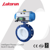 PTFE Seated Pneumatic Butterfly Valve