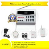 8 Wireless Defense Zone Commercial Intruder Alarm System (YL-007K4)