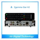 Air Digital Technology Zgemma Star H2 Satellite Receiver Dual Linux OS DVB-S2+T2-C Hybrid Tuners