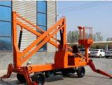 Diesel Engine Mobile or Trailer Articulating Aerial Working Boom Lift