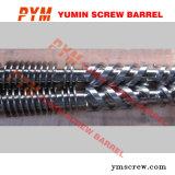 Conical Screw and Barrel in Bimetallic