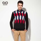 ODM Wool Acrylic Jacquard Man Sweater Garment