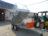 9′x5′ Heavy Duty Galvanized Tandem Hydraulic Tipper Box Trailer