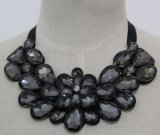 High Quality Bead Crystal Fashion Costume Jewelry Collar Necklace (JE0086-2)