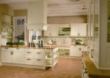 Solid Wood Kitchen Cabinet #2012-123