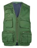 Customised Nylon Sleeveless Womens Pocket Vests & Workwear