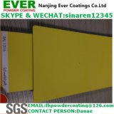 2017 Electrostatic Spray Sulfur Yellow Color Ral1016 Powder Coating