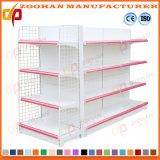 Double Sided Back Net Wire Metal Supermarket Display Shelf (Zhs24)
