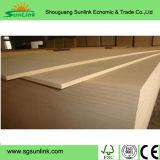 Waterproof Plain MDF Board with Dencity 750kgs/Cbm
