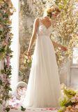 A-Line Chiffon Fashion Bridal Wedding Dresses (WD5002)