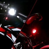 Waterproof Mountai Bicycle Accessories Plastic Bike Front Light Lehtd USB Rechargeable LED Bike Tail Light