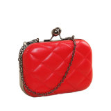 2017 Cuttest Small Quilted Box Chain Clutch Bag