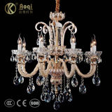 Luxury Glass Tube Crystal Chandelier for Indoor (AQ8056-8)