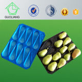 Frost Surface Moisture Proof Blister Process Type Fresh Pear Use PP Tray Blister Pack for Fruit with Exporting Standard