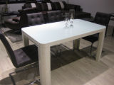 (ST-139) Home Furniture White Square MDF Dining Table
