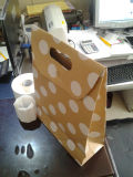Tailored Kraft Paper Gift Bag