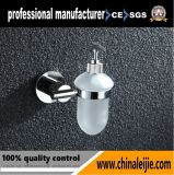 Elegant Design Stainless Steel Soap Dispenser with Glass