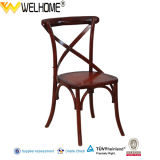 Fashionable Wooden Cross Back Chair for Dining, Event
