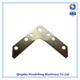 Angle Corner Bracket Made of Galvanized Steel with Powder Coating