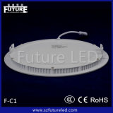 SMD2835 Cool White Round Panel Lampu LED Panels 6W