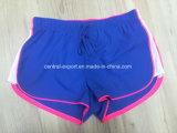 Oeko-Tex Full Elastic Waist Polyester Patterned Lady Board Short Swimwear