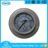 63mm Glycerin Filled Stainless Steel Pressure Gauge with Panel Mounting