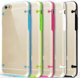 Light Transparent Crystal PC TPU Case for iPhone6