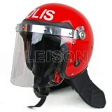 Police Anti Riot Helmet of PC with ISO Standard