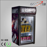 Desk Top Display Cooler Fridge/Energy Drink Fridge Refrigerator/Small Showcase (SC80B)