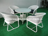 PE Rattan Furniture Wicker Table