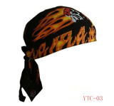 Customized Pirate Hat Flame Design Outdoor Hat