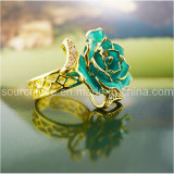 24k Gold Dipped Rose Ring (JZ002)