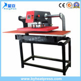 up-Sliding Pneumatic Plain Heat Press Machine for Textile