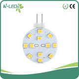 RV LED Replacement Bulbs Bi-Pin G4 Disk 12SMD2835 DC10-30V AC8-18V