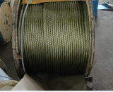 Bright Steel Cable 6X7+FC with Yellow Grease