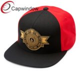 Mixed Colos Man Snapback Cap with Golden Embroidery (01215)