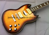 Falmed Maple Top P90 Pickups Quality Custom Sg Electric Guitar