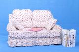 Pink Flower Pattern Double Seats Children Sofa (SXBB-287)