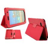 for Samsung Galaxy Tab P3200 Flip Slim PU Leather Case