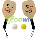 Wood and Carbon Pickleball Paddle Racket (HTS5022)