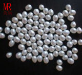 7-8mm White Freshwater Drop Pearls