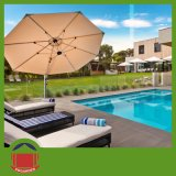 Outdoor Swimming Pool Used Small Side Post Umbrella