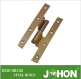 140X60mm Crank Steel or Iron Door Hardware Fastener H Hinge