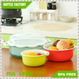 Better Life Food Grade PP Fruit and Vegetables Draining Basket Kitchen Wash Basin BPA Free