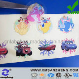 Transparent Full Color Self Adhesive Weather Resistant Cartoon Decoration Stickers