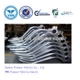 Metal Pipe Fitting Sheet Metal Parts of Pipe Welding Supplier