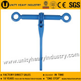 Ratchet Type Load Binder Without Links or Hooks