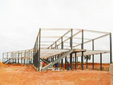 Prefabricated House /Light Steel Structure Hotel with ISO (pH-43)