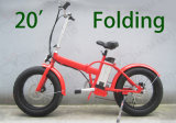 20inch Folding Electric Bike with Fat Tire Kenda