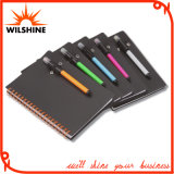Custom Student PP Cover Spiral Notebook with Pen (PPN229)